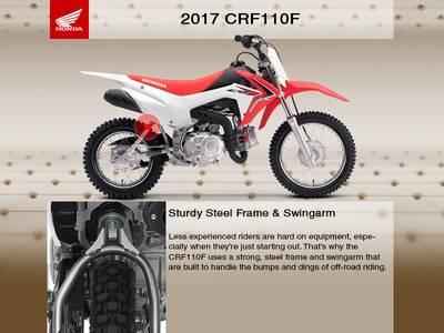 2017 Honda® CRF110F Base | Dillon Brothers Motorsports | Omaha, NE
